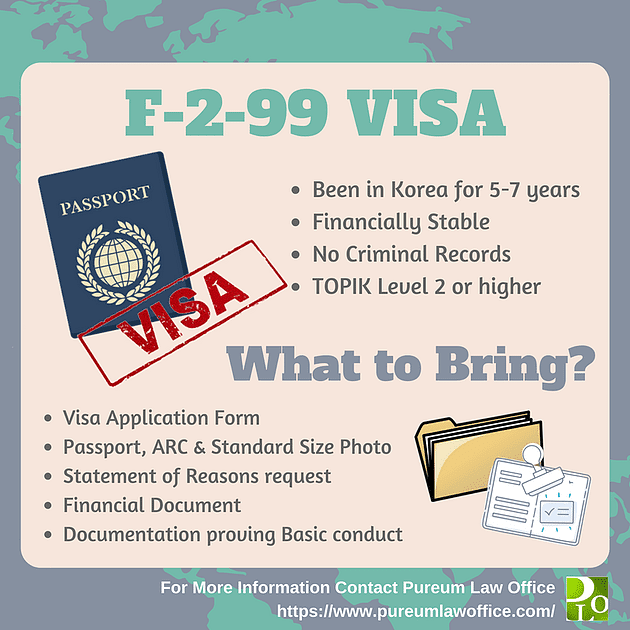 f-2-99 korean visa